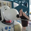 Me and Space Snoopy.
