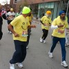 100 year-old Fauja Singh (the Turbaned Tornado) ran the entire marathon (his eighth!) and earned a spot in the Guiness World Book of Records. Now THAT is a rock star, my friends... never say you're too old to try something!