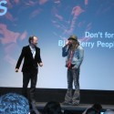 TIFF's Midnight Madness programmer, Colin Geddes, introduces Rob Zombie.