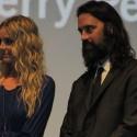 The film's stars: Sheri Moon Zombie & Jeffrey Daniel Phillips.