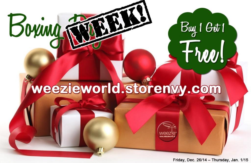 BoxingWeekWeezieWorld
